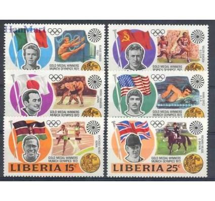 Znaczek Liberia 1973 Mi 855-860 Czyste **