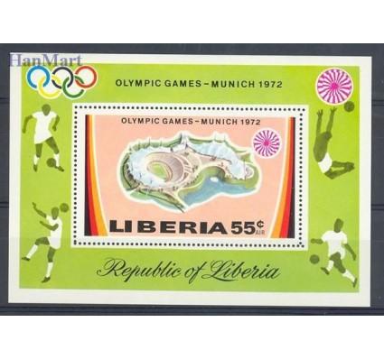 Znaczek Liberia 1972 Mi bl 60 Czyste **