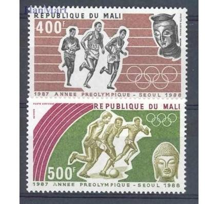 Znaczek Mali 1987 Mi 1094-1095 Czyste **