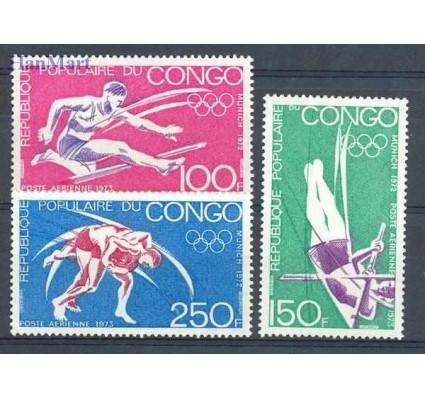 Znaczek Kongo 1973 Mi 357-359 Czyste **