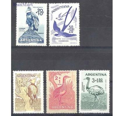 Znaczek Argentyna 1960 Mi 715-719 Czyste **
