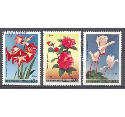 Znaczek Korea Północna 1985 Mi 2679-2681 Czyste **