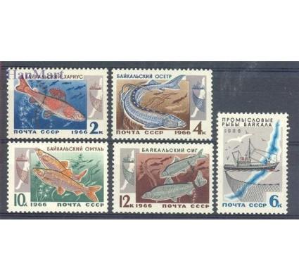 Znaczek ZSRR 1966 Mi 3264-3268 Czyste **