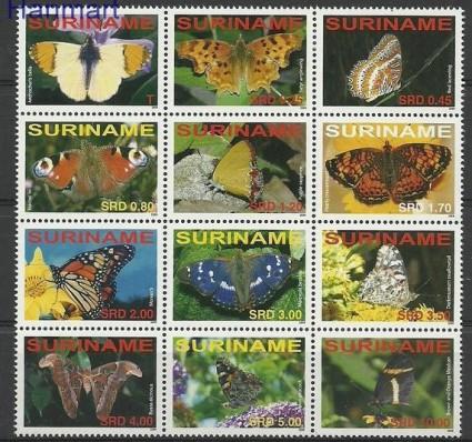 Znaczek Surinam 2008 Mi 2172-2183 Czyste **