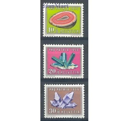 Znaczek Szwajcaria 1959 Mi 675-677 Czyste **