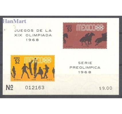 Meksyk 1968 Mi bl 14 Czyste **