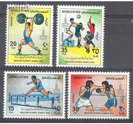 Znaczek Irak 1980 Mi 1048-1051 Czyste **