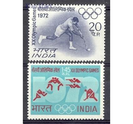 Znaczek Indie 1972 Mi 538-539 Czyste **