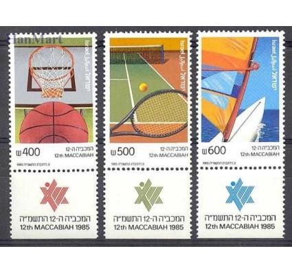 Znaczek Izrael 1985 Mi 1004-1006 Czyste **