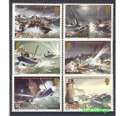 Jersey 1984 Mi 324-329 Czyste **