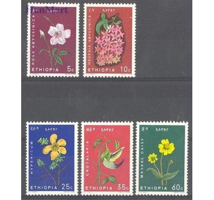 Znaczek Etiopia 1965 Mi 495-499 Czyste **