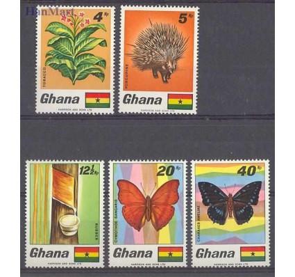 Znaczek Ghana 1968 Mi 342-346 Czyste **