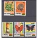 Ghana 1968 Mi 342-346 Czyste **