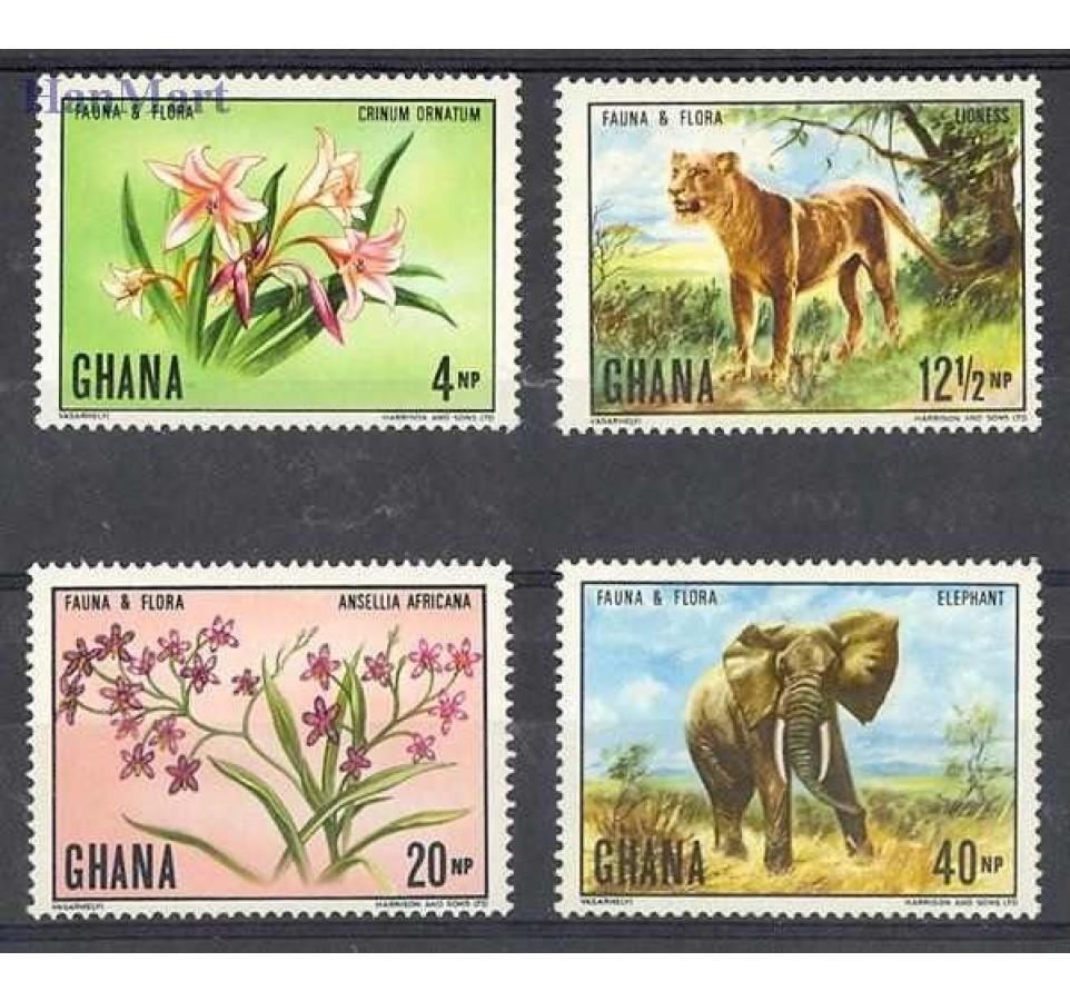 Ghana 1970 Mi 413-416 Czyste **