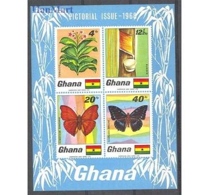 Znaczek Ghana 1968 Mi bl 31 Czyste **