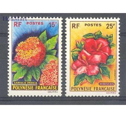 Znaczek Polinezja Francuska 1962 Mi 20-21 Czyste **