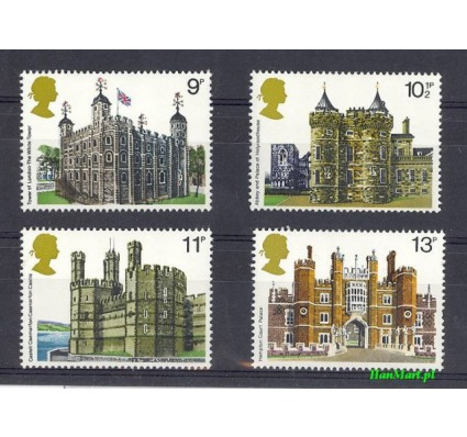 Wielka Brytania 1978 Mi 760-763 Czyste **