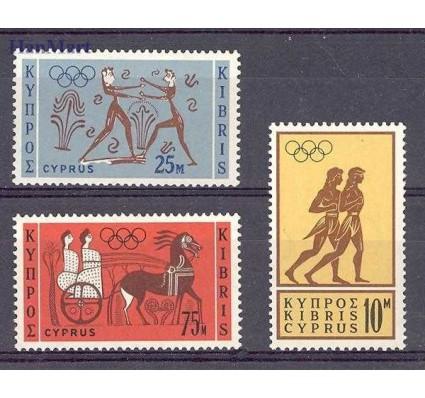 Znaczek Cypr  1964 Mi 237-239 Czyste **