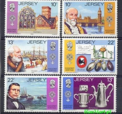 Znaczek Jersey 1985 Mi 360-365 Czyste **