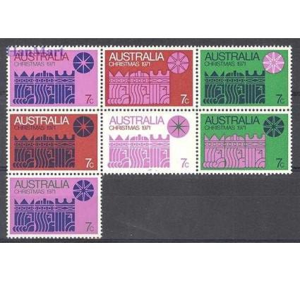 Znaczek Australia 1971 Mi 479-485 Czyste **
