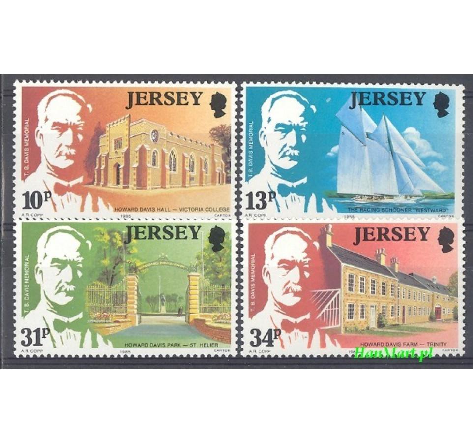 Jersey 1985 Mi 368-371 Czyste **