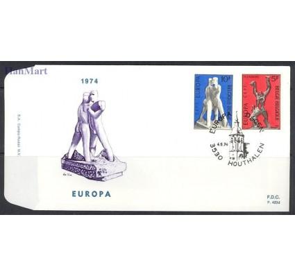 Znaczek Belgia 1974 Mi 1766-1767 FDC