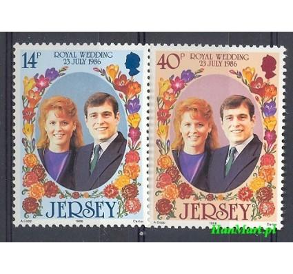 Znaczek Jersey 1986 Mi 386-387 Czyste **