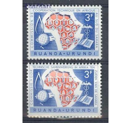 Znaczek Ruanda - Urundi 1960 Mi 173-174 Czyste **