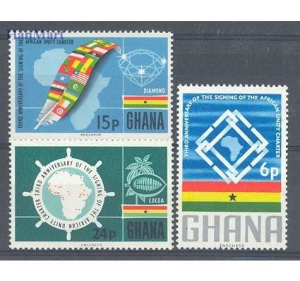 Znaczek Ghana 1966 Mi 266-268 Czyste **