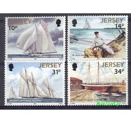 Jersey 1987 Mi 396-399 Czyste **