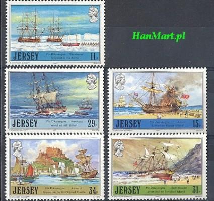 Jersey 1987 Mi 409-413 Czyste **