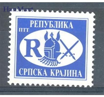Znaczek Republika Serbskiej Krajiny / Krajina 1993 Mi 22 Czyste **