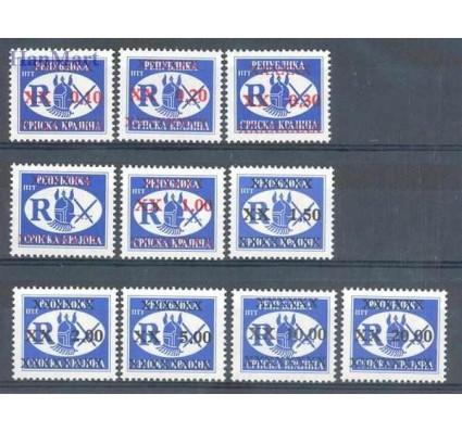 Znaczek Republika Serbskiej Krajiny / Krajina 1997 Mi 68-77 Czyste **
