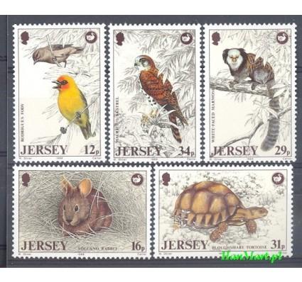 Znaczek Jersey 1988 Mi 442-446 Czyste **