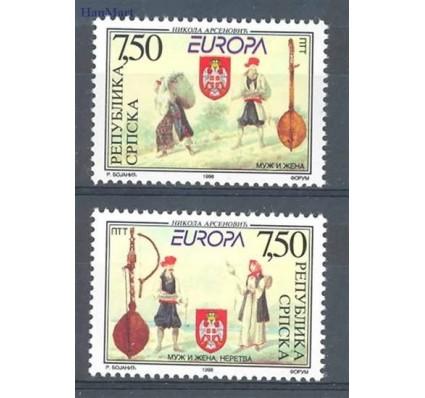 Znaczek Republika Serbska 1998 Mi 105-106 Czyste **