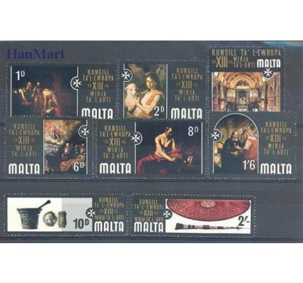 Znaczek Malta 1970 Mi 401-408 Czyste **