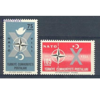 Znaczek Turcja 1962 Mi 1830-1831 Czyste **