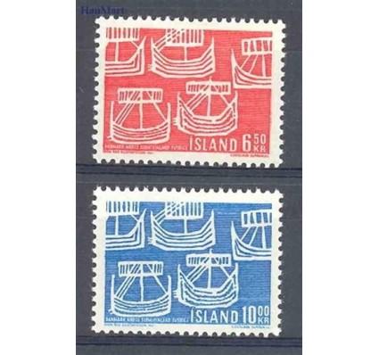 Znaczek Islandia 1969 Mi 426-427 Czyste **