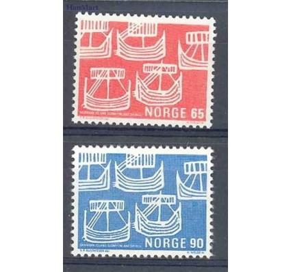 Znaczek Norwegia 1969 Mi 579-580 Czyste **