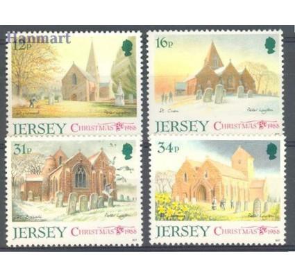 Znaczek Jersey 1988 Mi 453-456 Czyste **