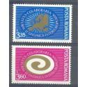 Rumunia 1973 Mi 3120-3121 Czyste **