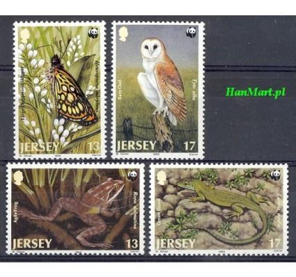 Jersey 1989 Mi 480-483 Czyste **