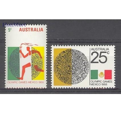 Znaczek Australia 1968 Mi 406-407 Czyste **