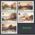 Jersey 1989 Mi 496-500 Czyste **