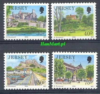 Jersey 1990 Mi 512-515 Czyste **