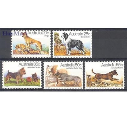 Znaczek Australia 1980 Mi 700-704 Czyste **