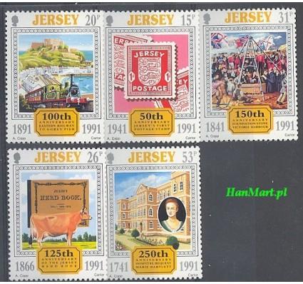 Jersey 1991 Mi 544-548 Czyste **