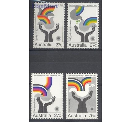 Znaczek Australia 1983 Mi 831-834 Czyste **