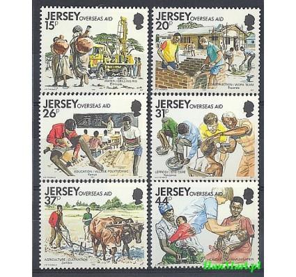 Znaczek Jersey 1991 Mi 553-558 Czyste **