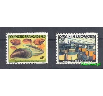 Znaczek Polinezja Francuska 1981 Mi 326-327 Czyste **